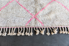[SOLD] I ONCE CAUGHT A FISHNET THIS BIG ourika vintage moroccan berber carpet