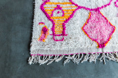[SOLD] NIKKI'S WEDDING ourika vintage moroccan berber carpet