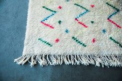 [SOLD] BIRTHDAY CAKE vintage ourika moroccan berber carpet