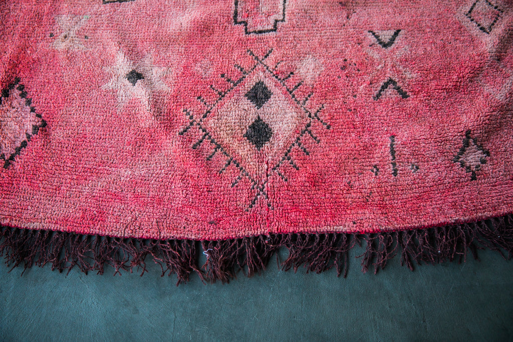 [SOLD] CAMEL LOT vintage marmoucha moroccan berber carpet