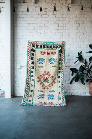 "ABOUT A GIRL BERBER RUG 6'1"" x 3'5"""