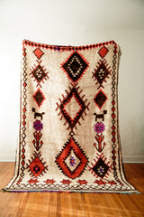 [SOLD] JAGGED LITTLE PILL vintage moroccan berber carpets
