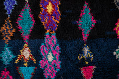 MIDNIGHT EXPRESS vintage ait namat berber moroccan rug