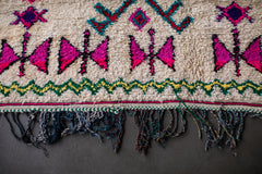BOWTIE BUTTERFLY vintage ourika berber moroccan rug