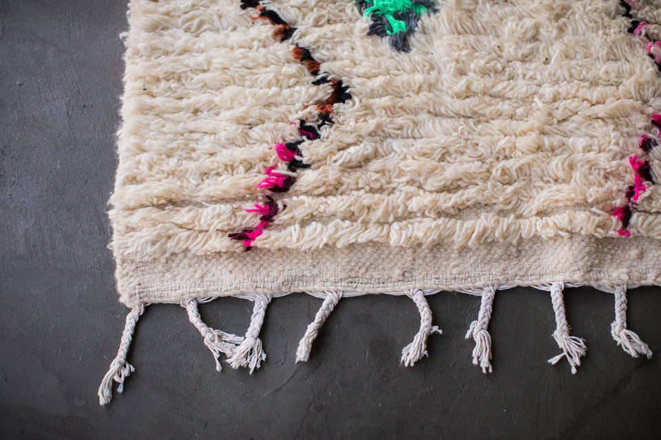 [SOLD] THIS IS ME vintage ourika berber moroccan rug