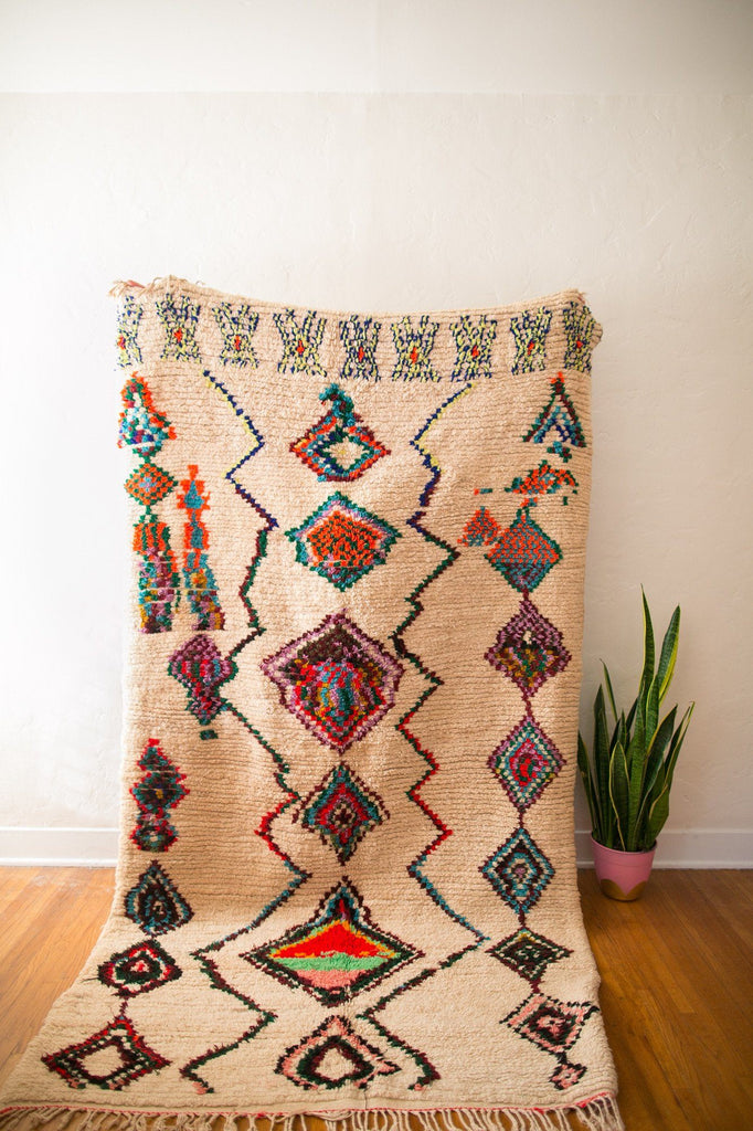 [SOLD] IF YOU WANNA BE MY LOVER : vintage berber carpet Default type Coco Carpets