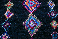 [SOLD] SUKI LOVES DOLLY boucherouite vintage moroccan berber carpet