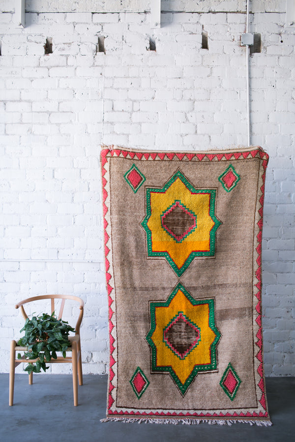 [SOLD] BEACH HOUSE vintage moroccan berber carpets