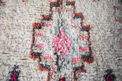 [SOLD] ICE CREAM CAKE vintage azilal moroccan berber carpet