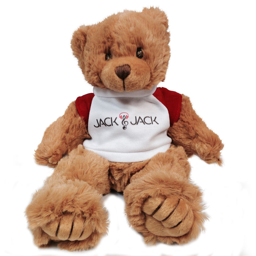 Limited Edition Jack & Jack Fan Bear with T-shirt