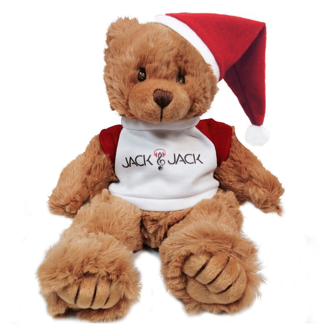 Limited Edition Jack & Jack Fan Bear with T-shirt with Santa Hat
