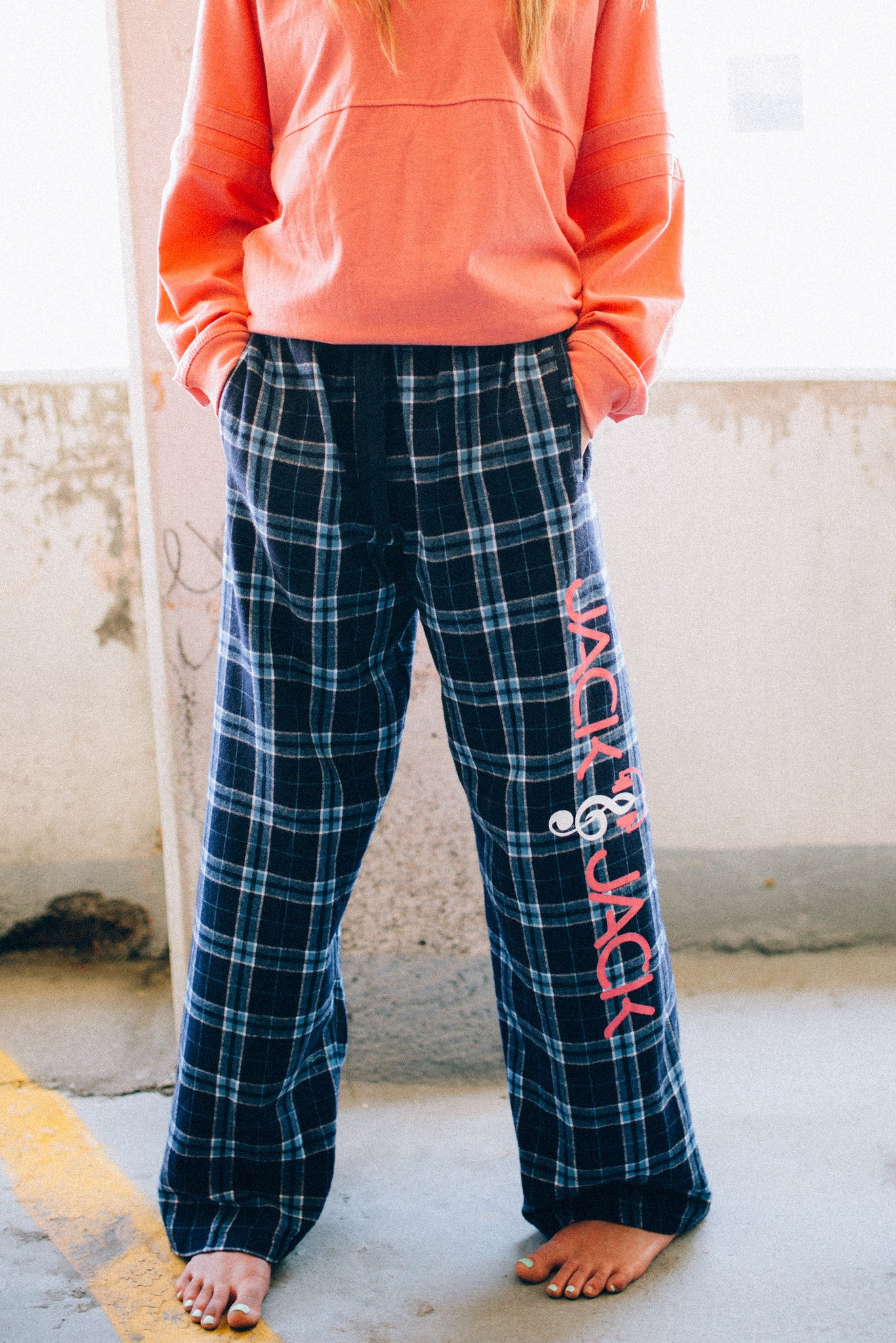 Fully Rocked Flannel Drawstring Pajama Pants