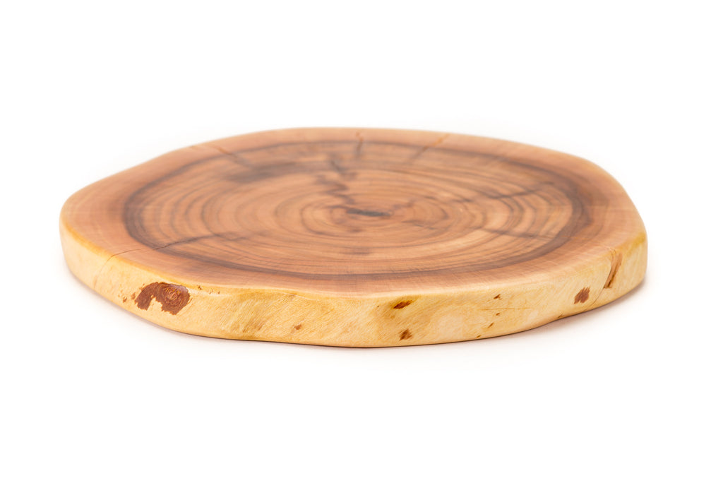 Mesquite Live Edge Natural Wooden Plate Jaja Boards