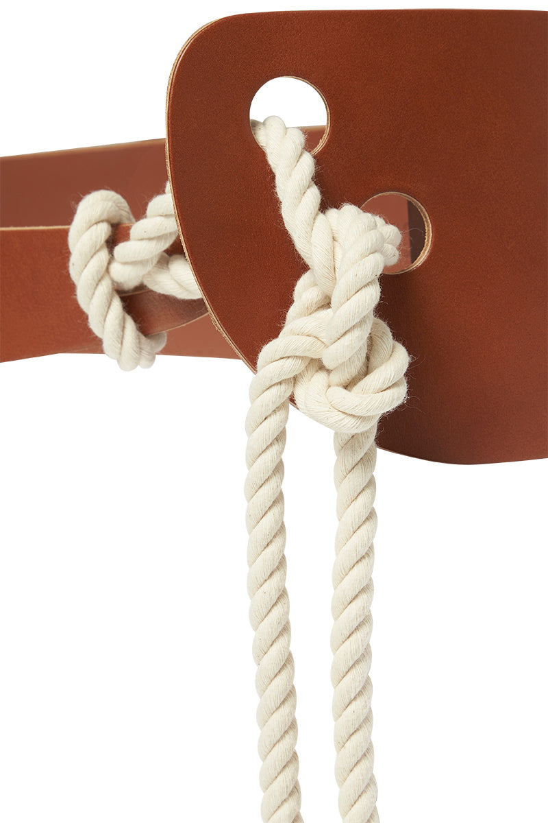 SCULPTED ROPE BELT - TAN-BELTS-Watson X Watson-ONE SIZE-TAN-Watson X Watson
