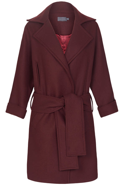 THE COAT - RUSSET