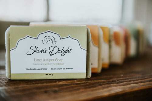 luxury vegan body soap