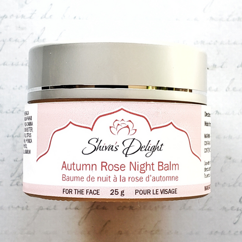 Autumn Rose Night Balm