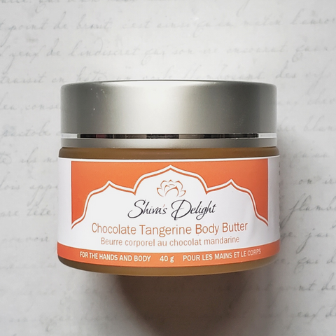 Chocolate Tangerine Body Butter