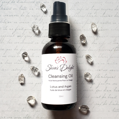 Lotus and Argan Cleansing Oil