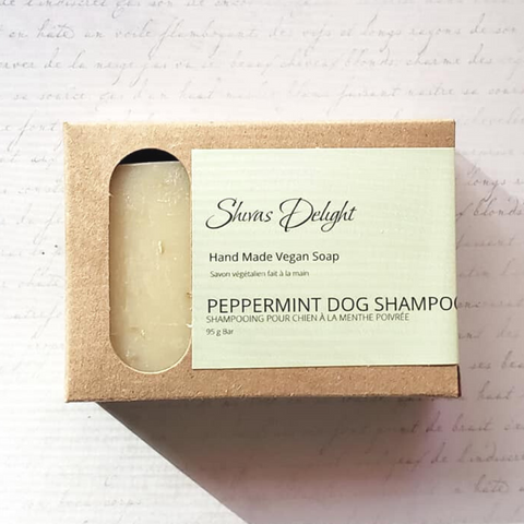 Peppermint Dog Shampoo Bar ON CLEARANCE!