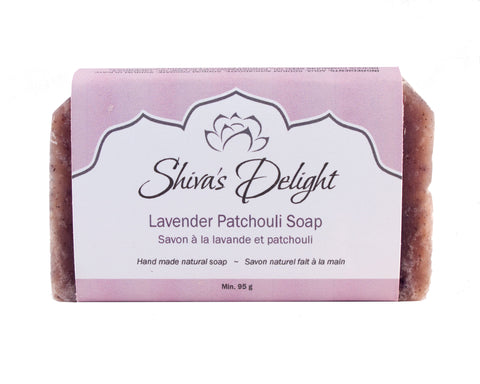 Shiva's Delight Lavender Patchouli Soap Bar