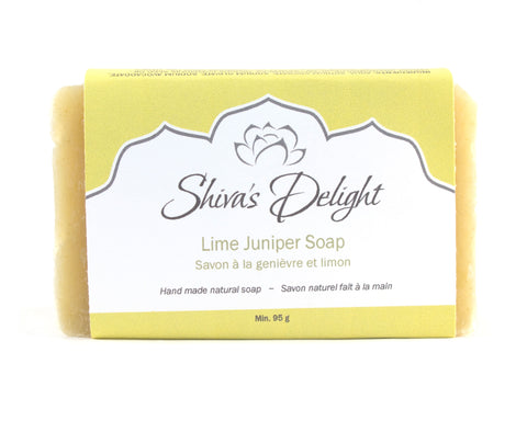 Shiva's Delight Lime Juniper Soap Bar