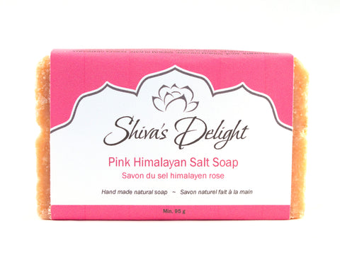 Shiva's Delight Pink Himalayan Salt Soap Bar