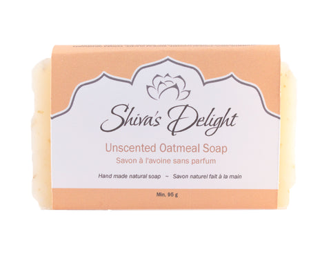 Shiva's Delight Unscented Oatmeal Soap Bar