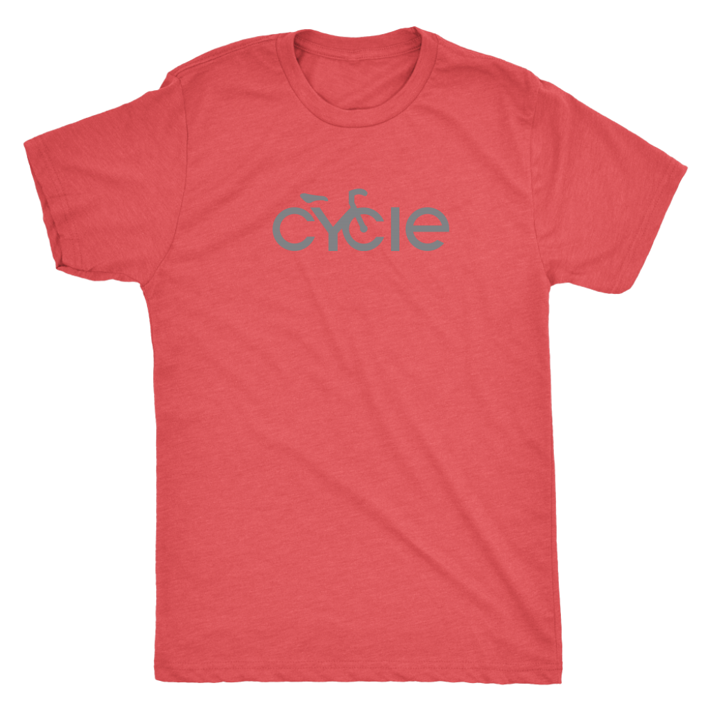 Men's Cycle T-Shirt (grey ink)