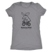 Women's Moose T-Shirt (black ink)