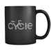 Cycle Mug on Black