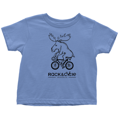 Toddler Moose T-Shirt (black ink)