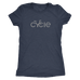 Women's Cycle T-Shirt (grey ink)