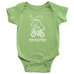 Infant Moose Onesie (white Ink)