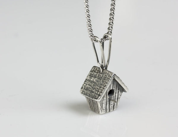 Birdhouse Pendant Small