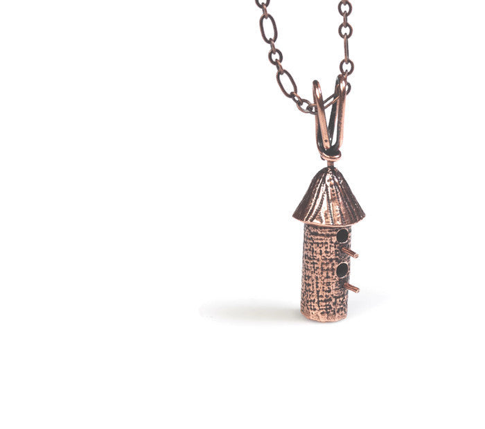 Birdhouse Copper Double Round