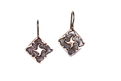 Essence Copper Earrings