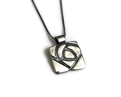 Glasgow Rose Pendant
