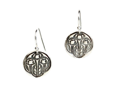 Growing Silver Earrings