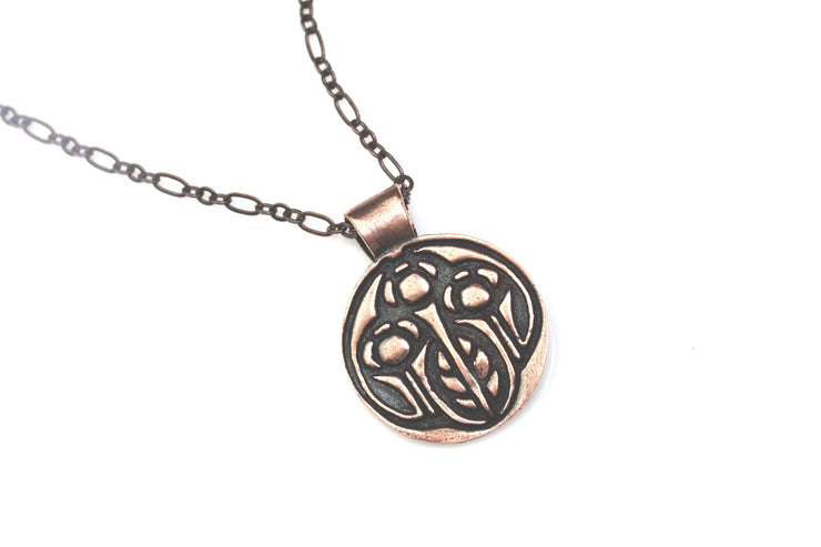 Growing Pendant Bronze or Copper
