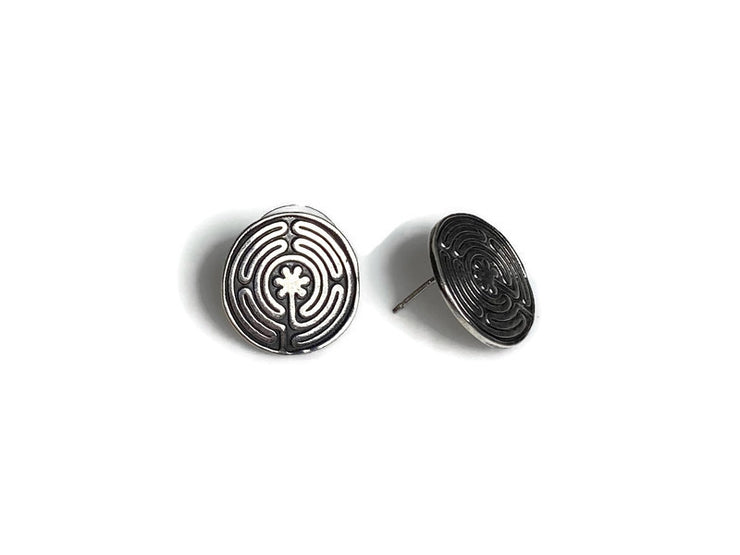 Labyrinth Earrings Posts