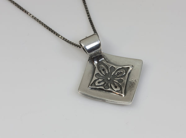 Peaceful Silver Pendant