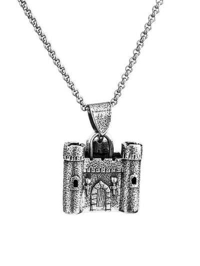 Castle Tri-Tower Pendant