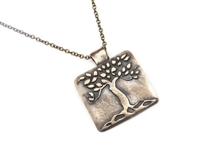 Tree Pendant Bronze