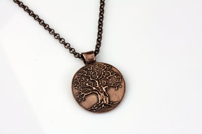 Tree of Life Medium Pendant Copper