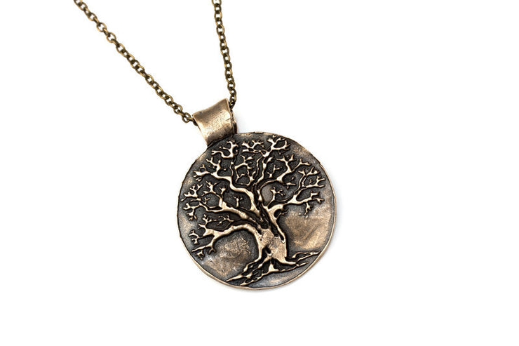 Tree of Life Pendant Bronze