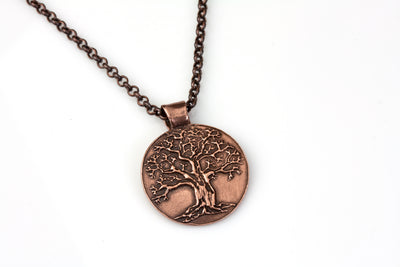 Tree of Life Pendant Copper