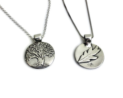 Tree of Life Silver Pendant Medium