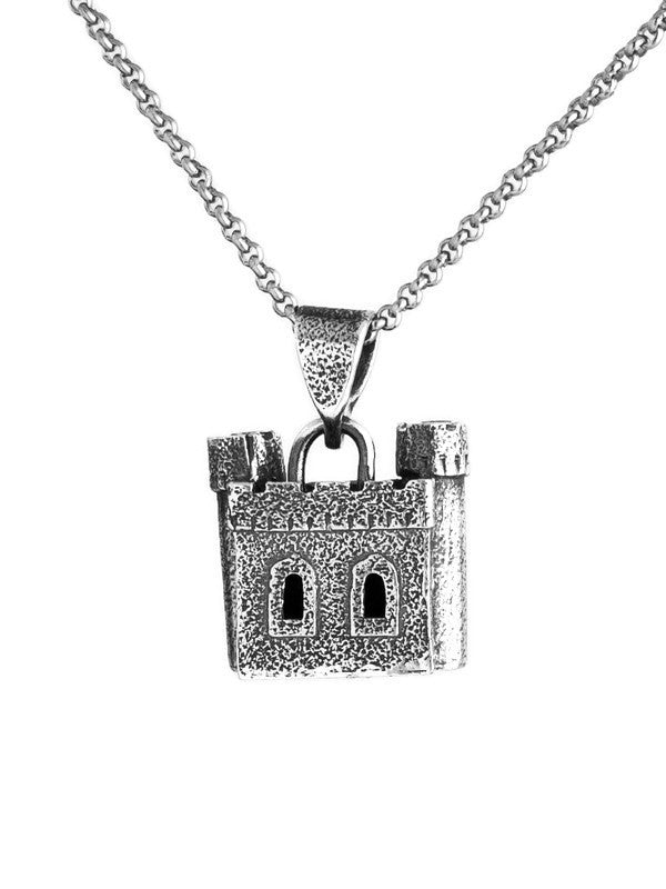 Castle Two Tower Pendant