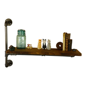 Allie Rustic Accent Shelf